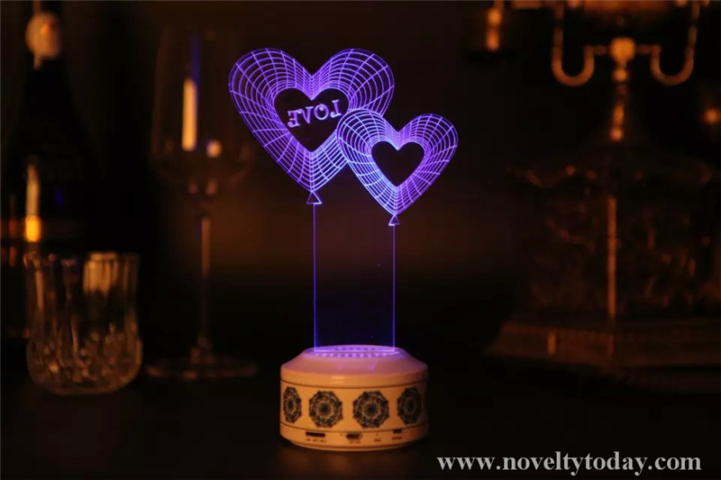Love Lighting Speaker Novelty