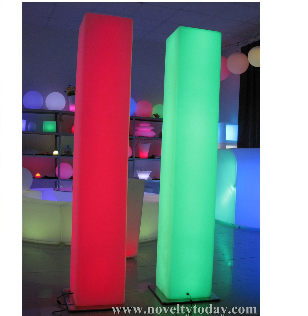 Led Square Column L30 W30 H190cm Novelty Lighting